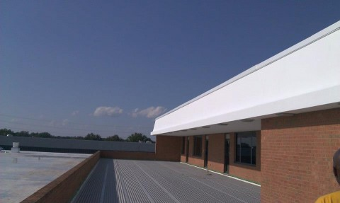 Commercial Roof and Sky